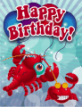 Crabs Small Birthday Card