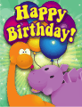 Dinosaur Small Birthday Card